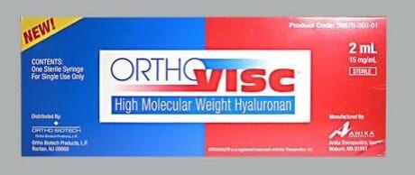 حقن Orthovisc Syringe لعلاج آلآم الركبة Molecular Personal Care Weight
