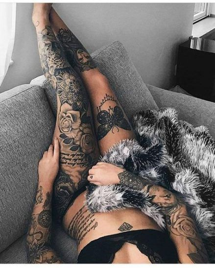 Bein frauen tattoos banknatisi: Tattoo