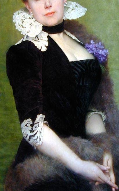 Jules-Joseph Lefebvre: Portrait of a Lady