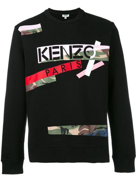 1e71b094 KENZO Broken Camo X Kenzo Paris Sweatshirt. #kenzo #cloth #sweatshirt