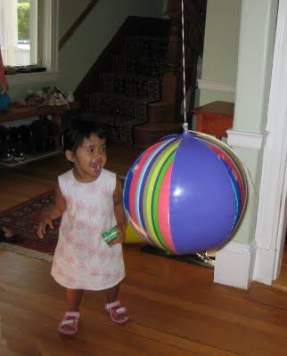 Tether Ball for toddlers