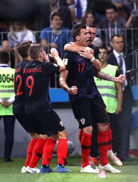 Mario Mandzukic Photos Photos England Vs Croatia Semi Final 2018 Fifa World Cup Russia Mario Mandzukic Croatia Fifa World Cup