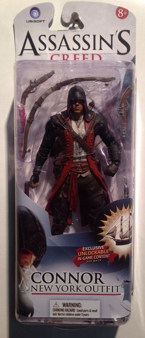 Mcfarlane Assassin S Creed Black Flag Connor New York Figure