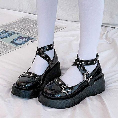 Details about  /Womens Lolita Mary Janes Princess Mori Girl Sweet Bowknot Kawaii Tea Party Shoes