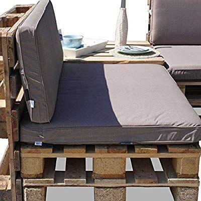 Amazon De Nordje Palettenkissen Set Comfort Grey Bestehend Aus