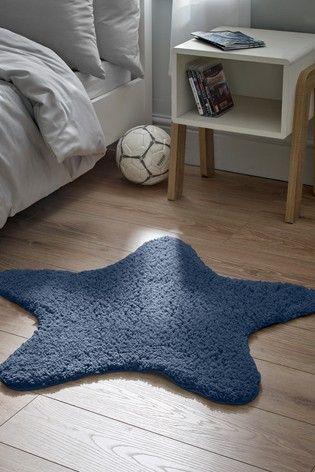 שטיח רך במיוחד בדוגמת כוכב 64 שקל נקסט Childrens Rugs Star Rug Purple Rug