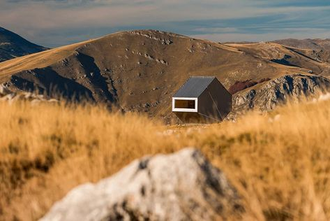 filter architecture completes bivouac zoran simic cabin in bosnia & herzegovina