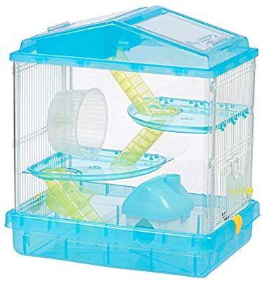 Amazon Com Iris Usa Hamster And Gerbil Pet Cage 3 Tier Blue