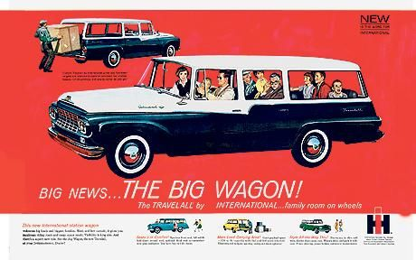The BIG Wagon !  Travelall by Inernational