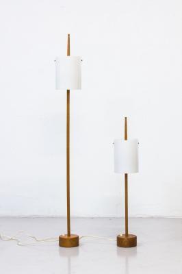 Scandinavian Modern Minimalist Floor Lamp By Uno Osten Kristiansson For Luxus 1950s 3 Lamp Modern Scandinavian Design Floor Lamp