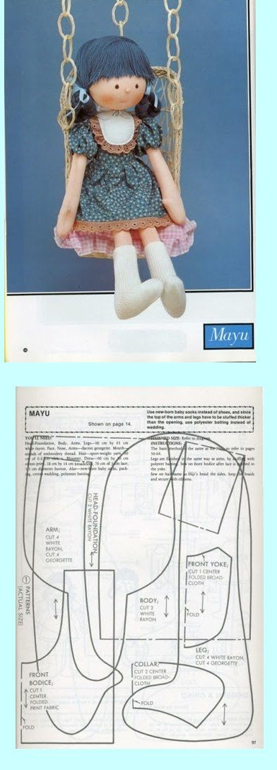 47 best waldorf patron images on Pinterest | Doll patterns, Fabric ...