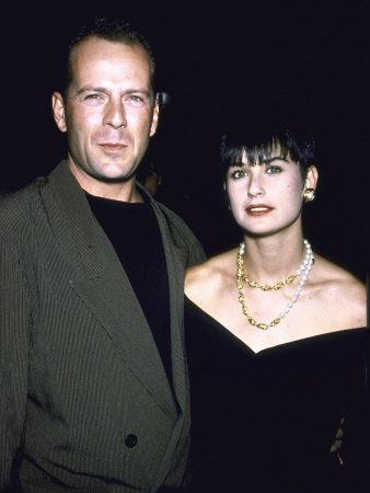 Bruce Willis & Demi Moore. They should have been a perfect couple till now.