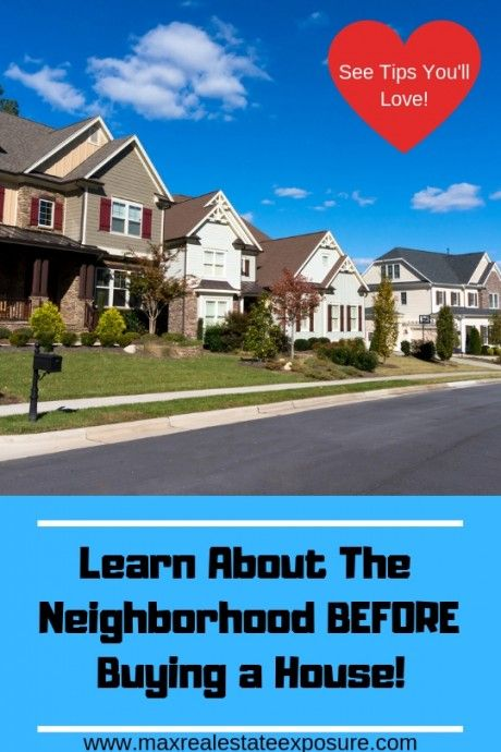 Neighborhood Details to Consider When Buying a Home