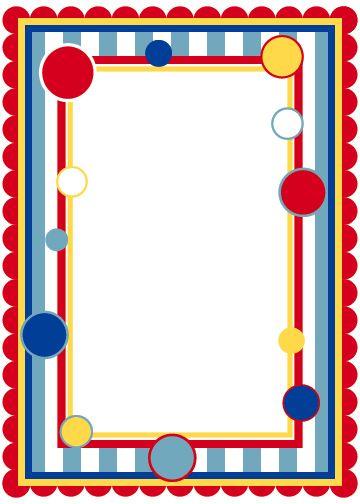 Circus Themed Invitation Templates