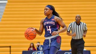 Ncaa Women S Basketball Howard S Williams Reaches Milestone In Road Win At Coppin State In 2020 Womens Basketball Basketball Basketball Design