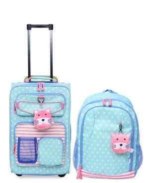 Crckt Kids 2-Pc. Printed Carry-On Suitcase & Backpack Set - Blue