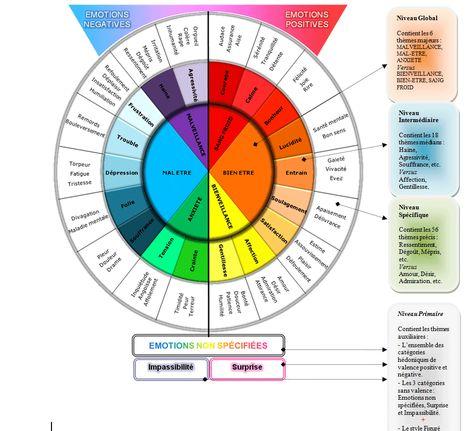 roue des émotions - thérapie - #PowerPatate #Métamorphoseaufildesjours