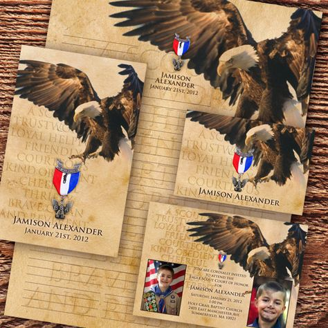 eagle scout court of honor invitation Boy Scouts of by CeceliaJane