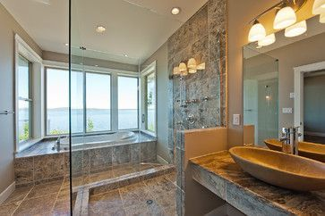 Bathrooms Rustic Bathroom Vancouver Alair Homes West