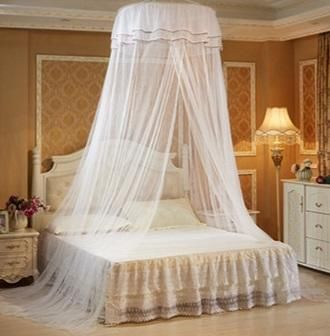 Decor Princess Hanging Round Lace Canopy Bed Mosquito Net
