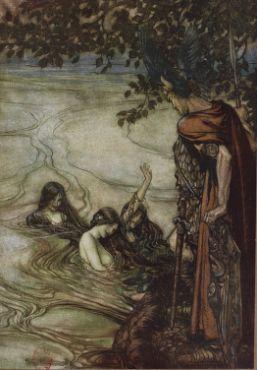 Siegfried Et Le Crepuscule Des Dieux Par Richard Wagner Gallica Rackham Illustrator Tale Conte Siegfried Wagne Arthur Rackham Illustrations Crepuscule