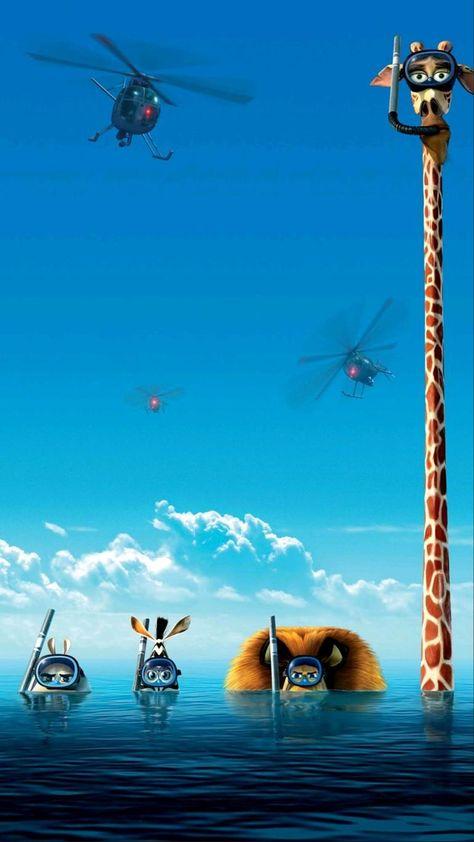 Madagascar animated movie wallpaper HD