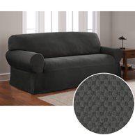 Groovy Sure Fit Cotton Duck Sofa Slipcover Walmart Com Slip Download Free Architecture Designs Embacsunscenecom