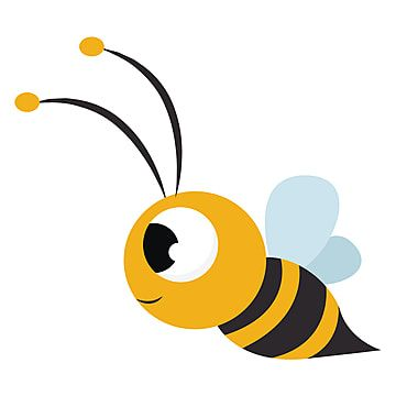 Cute Bee Illustration Vector On White Background Bee Clipart Wing Illustration Png And Vector With Transparent Background For Free Download Bee Illustration Animal Illustration Cartoon Bee