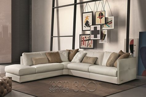 Amazingly chic and ultra stylish- the Wafer modern living room - esssofa