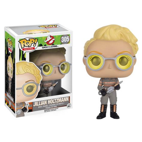 Funko Ghostbusters POP Jillian Holtzmann Vinyl Figure - Radar Toys