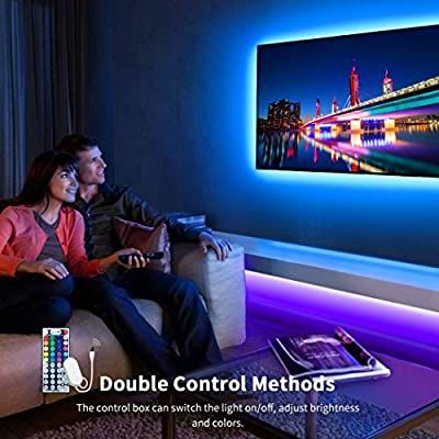 Led Strip Lights Govee 10m Rgb Multicolour Rope Light Strip Kit With Remote And Control Box For Room Ceiling Bedr Led Strip Lighting Strip Lighting Rope Light