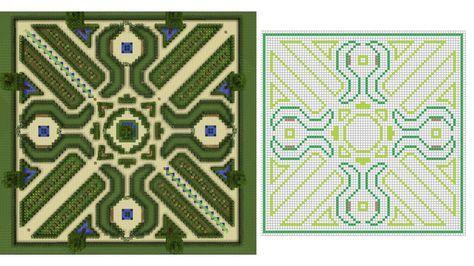 Jardin Minecraft A La Francaise Minecraft Castle Minecraft