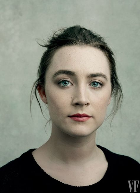 Saoirse Ronan, Vanity Fair's 2016 Hollywood Portfolio. Photo by Annie Leibovitz.