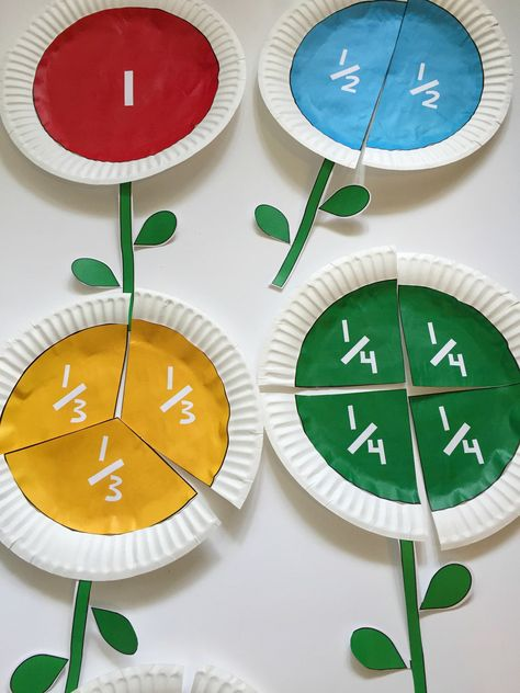 Fractions can be hard to teach and for kids to learn. Come see this big list of fun ways to teach fractions to kids! Games, apps, books and more! Stem Science, Preschool Science, Preschool Crafts, Elementary Science, Science Art, Math Games, Preschool Activities, Science Games, Fun Games