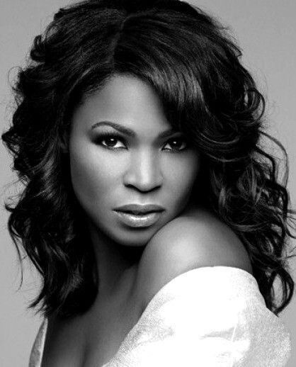 Nia Long in Black and White - Codeblack Icons