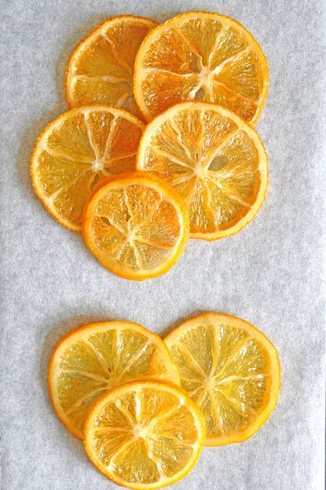How to Make Candied Lemon Slices | DessArts