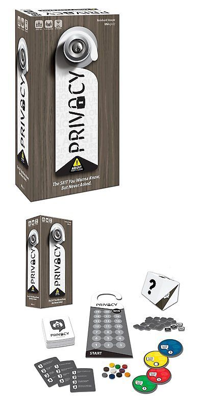 Card Games Contemporary 19082 Privacy Party Game Buy It Now Only 24 95 On Ebay Privacy Party Card Games