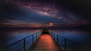 خلفيات كمبيوتر Hd بجودة عالية رائعة للكمبيوتر Top4 Hd Wallpaper Night Scenery Nebula Wallpaper