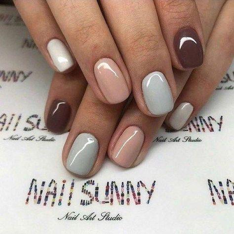 - Make up - NailiDeasTrends - 44 best nail designs 2019 nail art design ideas short nail designs simple make up -