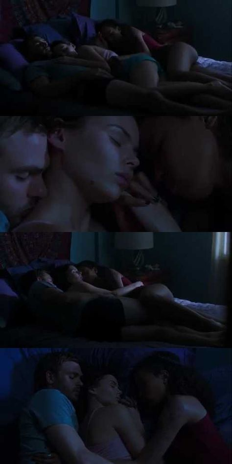 POLYMARINE CUDDLING WHILE SLEEPING. THIS WAS A PERFECT SCENE TO BEGIN THE EPISODE.
