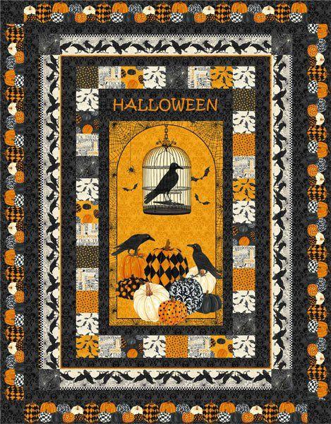 Halloween Quilt Pattern Google Search Halloween Quilt Patterns Halloween Quilts Halloween Quilt Kits