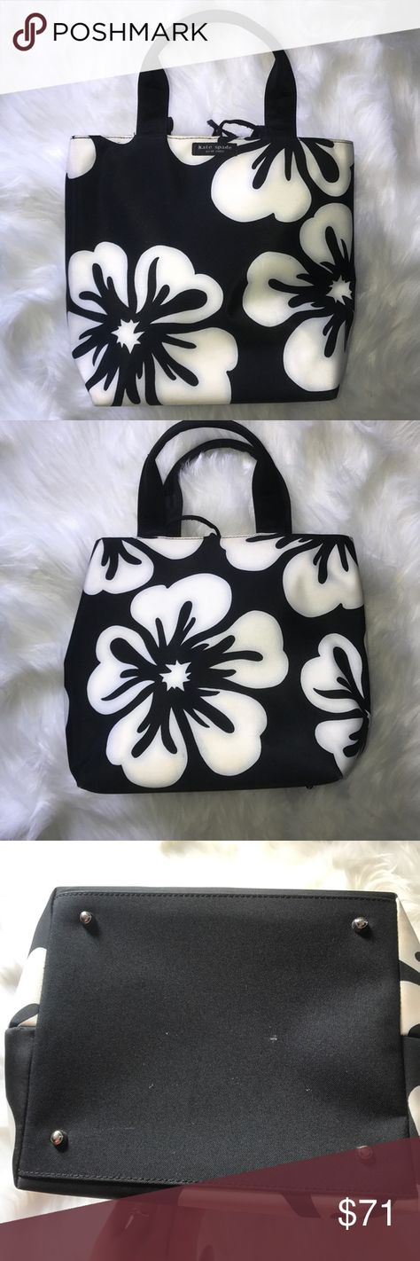 Kate Spade Floral Bag Kate Spade Floral Bag Black Bag With Large