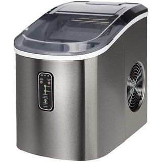 Euhomy Countertop Ice Maker Machine Makes 26 Lbs Ice In 24 Hrs