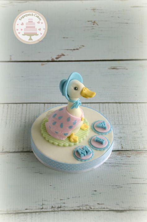 4859e902af3b Beatrix Potter cake toppers, Peter Rabbit, Jemima Puddleduck, Flopsy ...