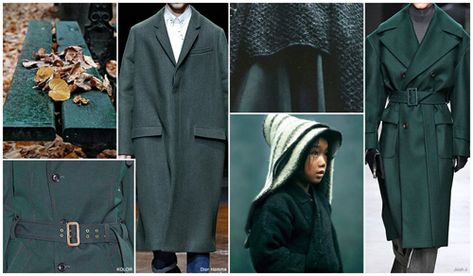 Top Color, Menswear Market, F/W 2015-16, Bench Green