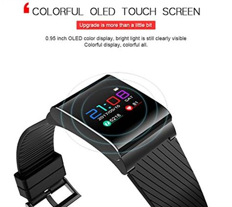 d9d098757f00 Joint New Fashion Colorfol LED Smart Wrist Watch X9 Pro HR Bluetooth 4.0  Bracelet Sport Watches