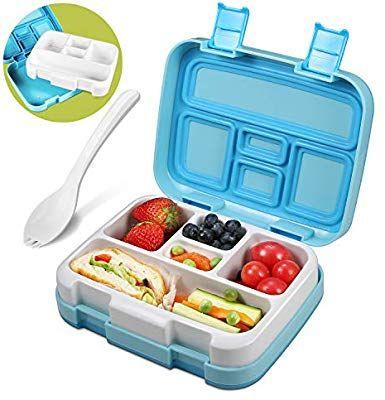 Aliengt Bento Box Kids Lunch Box Vesperbox Geteilte Brotdose Kindergarten Lunchbox Kinder Mit Trennwand Fruhstucks Brotdose Kindergarten Bentobox Lunchbox Kind
