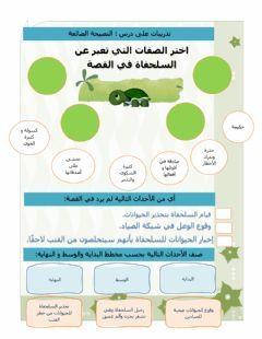 النصيحة الضائعة Language Arabic Grade Level 4 School Subject اللغة العربية Main Content Arabic Other Contents In 2021 Workbook Arabic Lessons School Subjects