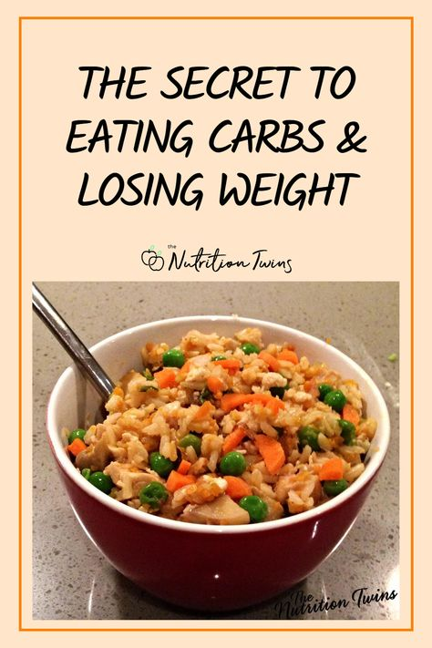 The Secret To Eating Carbs and Losing Weight. Is a low carb diet necessary for weight loss? Low carb diet plans can work for weight loss and help you get a flat belly. But carbs are also important for a workout plan and for energy. Also see healthy recipes that are also low carb recipes #lowcarb #recipes #weightloss #lowcarbdiet For MORE RECIPES, fitness  nutrition tip please SIGN UP for our FREE NEWSLETTER www.NutritionTwins.com