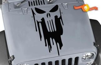 REFLECTIVE WHITE PAIR CJ Jeep Wave Hand Decal Sticker Wrangler JK YJ TJ 2x